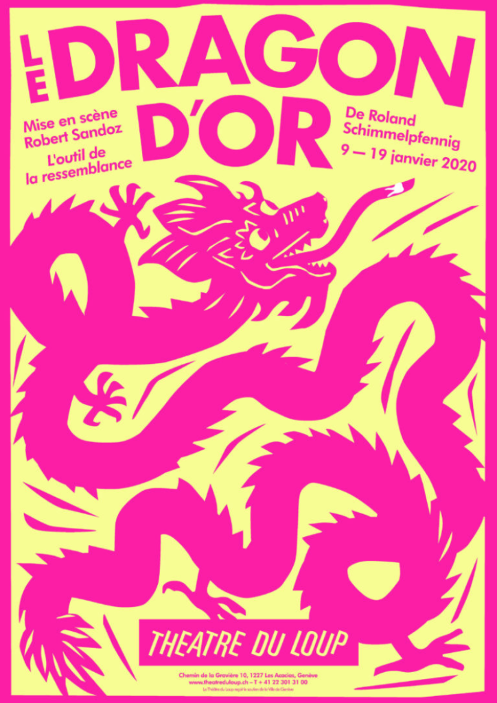 Le dragon d'or Affiche